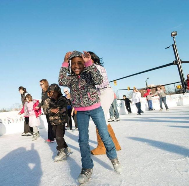 Buy One Get One Free Skate Passes Founders Holiday Ice Rink Old