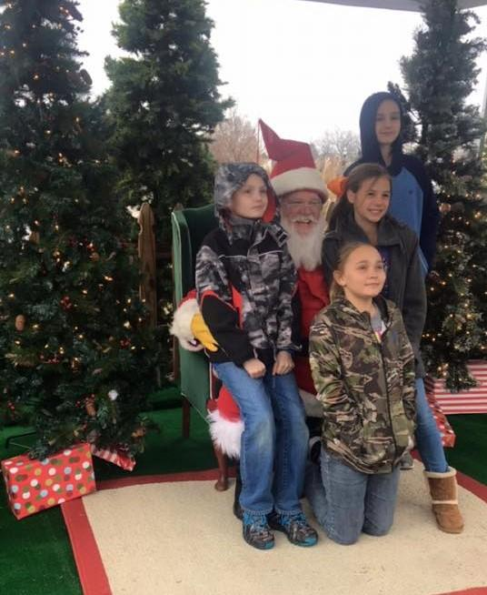 Santa At Founders Holiday Ice Rink Old Town Rock Hill Sc Kids