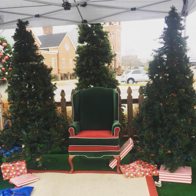 Christmasville At Founders Holiday Ice Rink Old Town Rock Hill