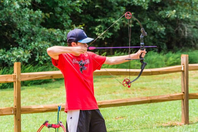 Archery 101 - Anne Springs Close Greenway | Kids Out and About Charlotte