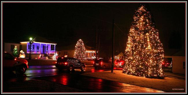 Mcadenville Christmas Lights.Tree Lighting Ceremony 2019 Christmas Town U S A